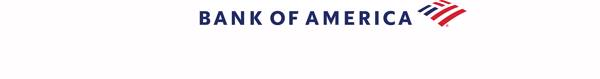 blue logo of the bank of america