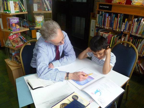 Reading support session at Barbican Library